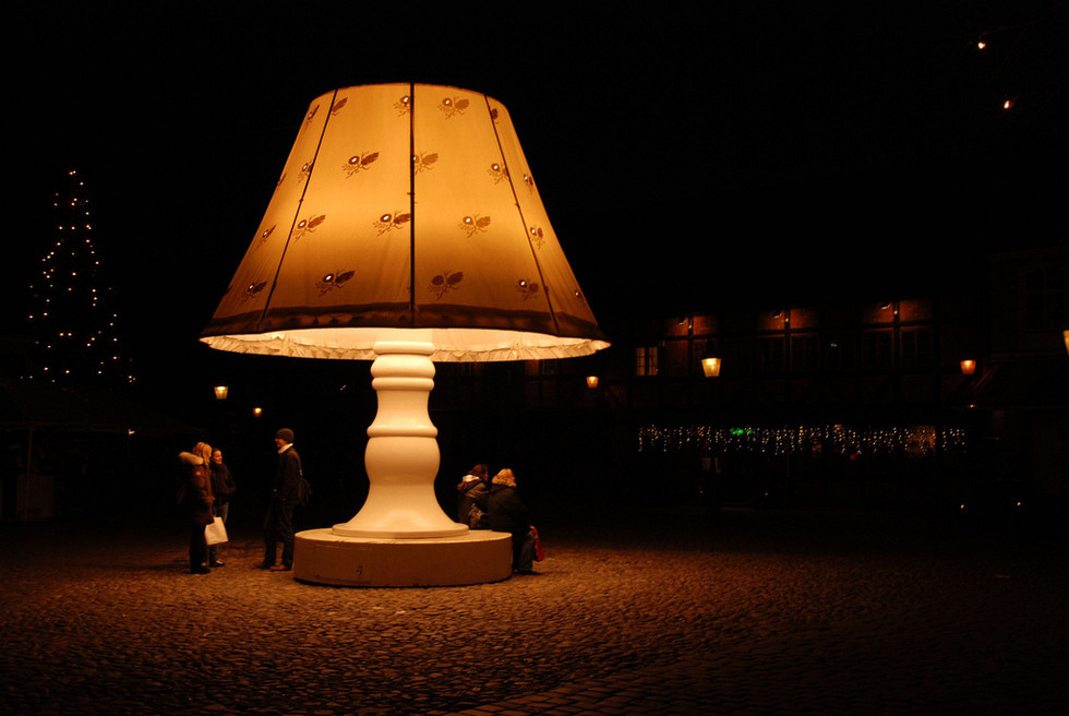 talking lamp