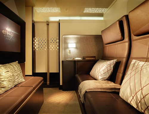 Etihad private suite