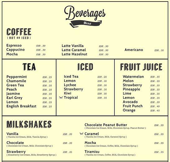 beverages 1