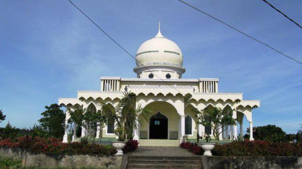Masjid di Taman Wisata Iman Dairi