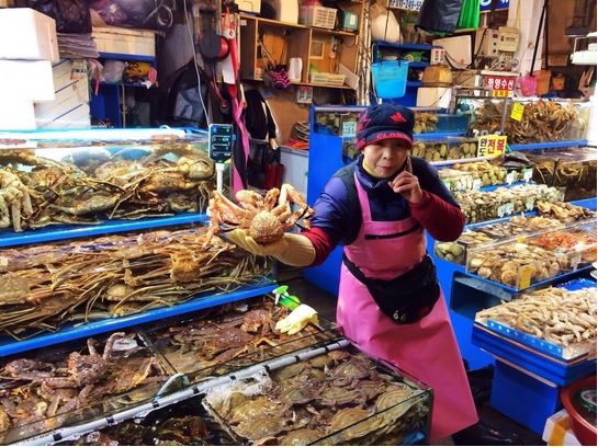 pasar ikan noryangjin