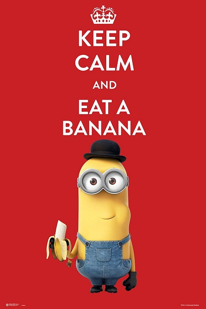poster-minions-keep-calm-and-eat-a-banana