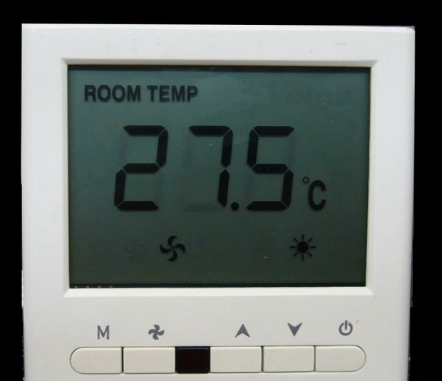 air con thermostat
