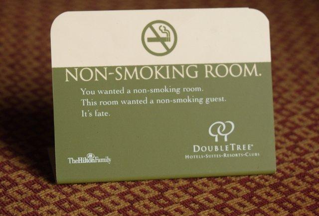 non smoking room