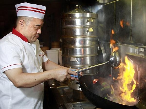 fiery heat cooking