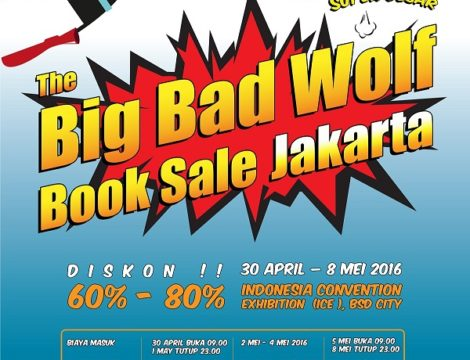 Serunya Berburu Buku di Big Bad Wolf Jakarta